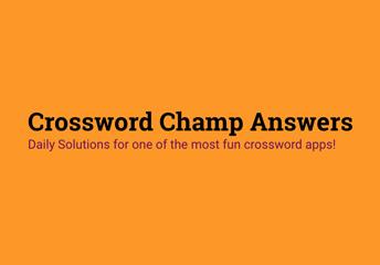 Crossword Champ